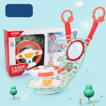 Electric Simulation Steering Wheel Best Toys For Babies