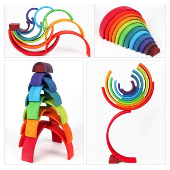 Creative Rainbow Building Blocks Best Toys For Babies Best Children's Lighting & Home Decor Online Store