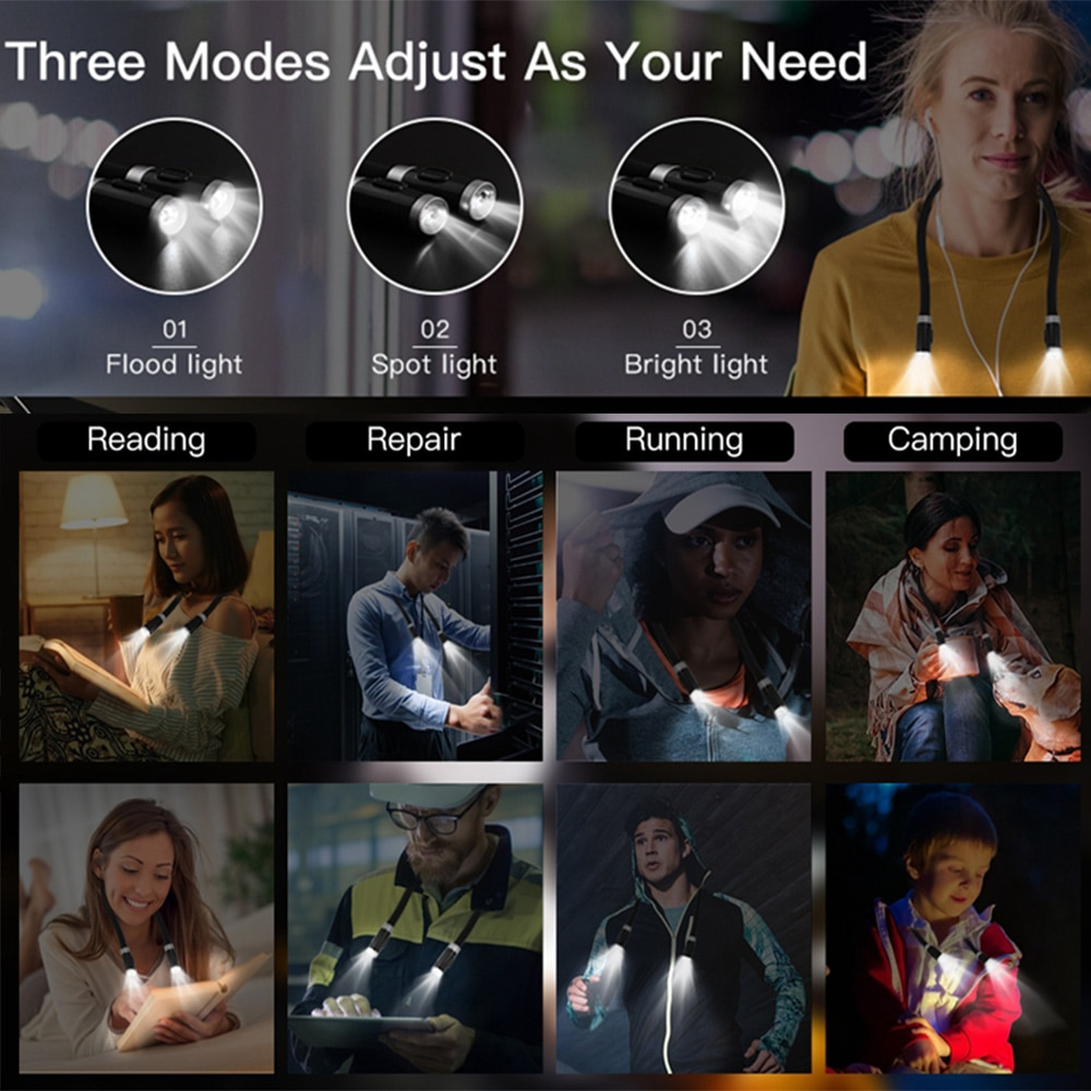Hands Free Best Reading Lamp For Eyes